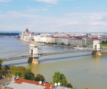 Royal Palace Budapest, Buda Castle, view