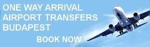 One way arrival transfers in Budapest