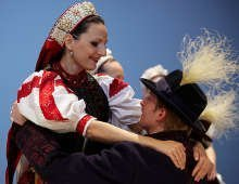 Hungarian Folk Performance in Budapest